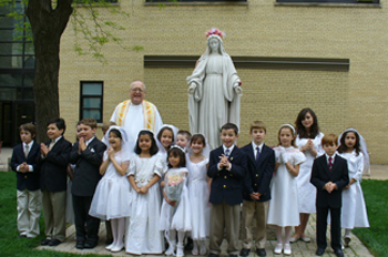 First Holy Communion in the Catholic Church