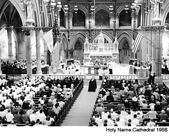Holy Name Cathedral - May 1958