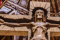 Chicago Cathedral Resurrection Crucifix