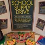 School Supply Drive - HCC