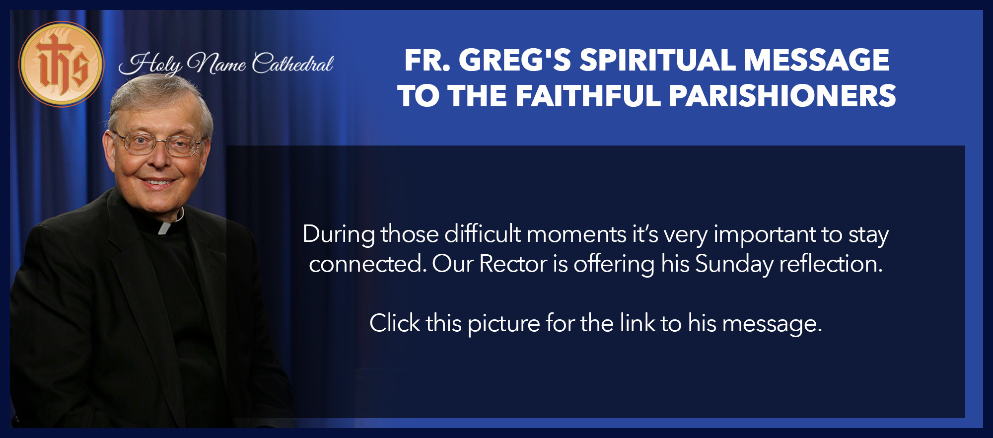 Fr. Greg Spiritual Message
