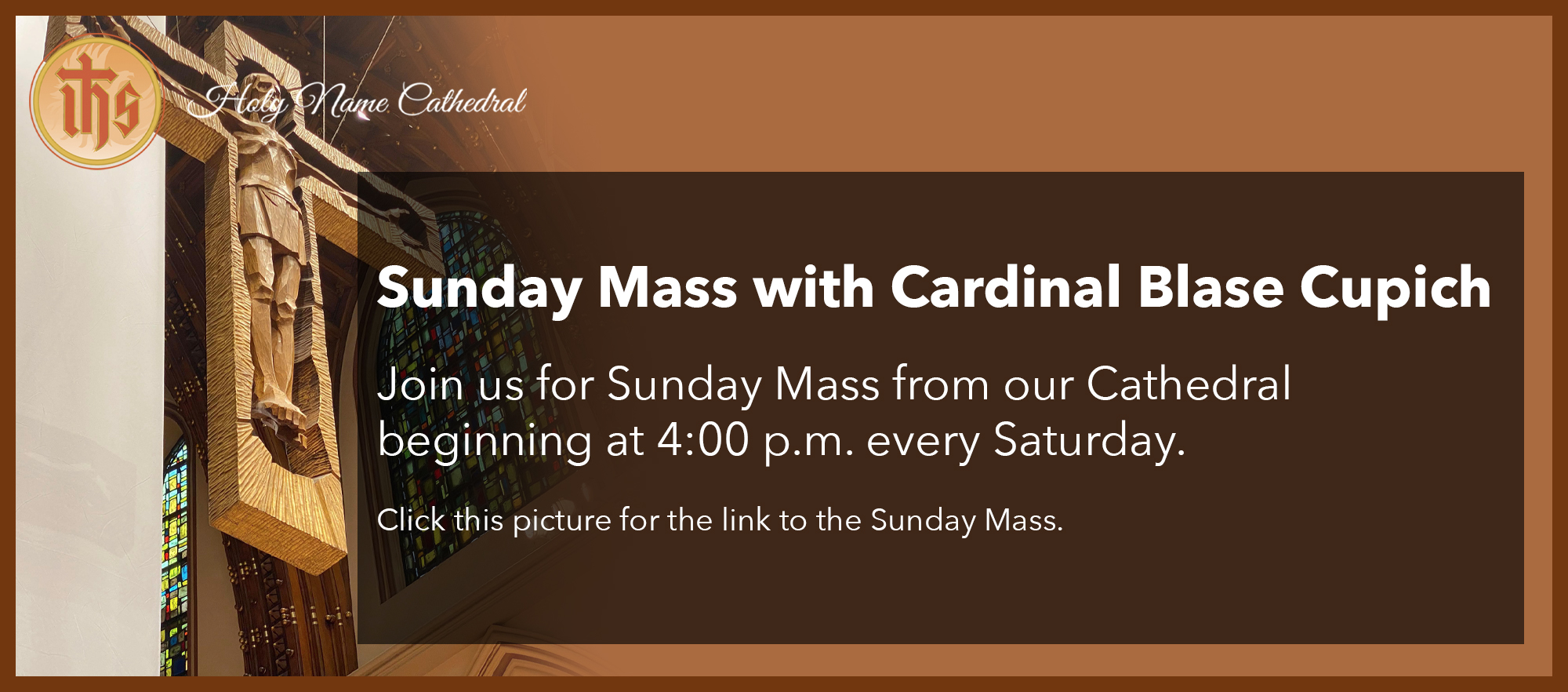 Sunday Mass with Cardinal