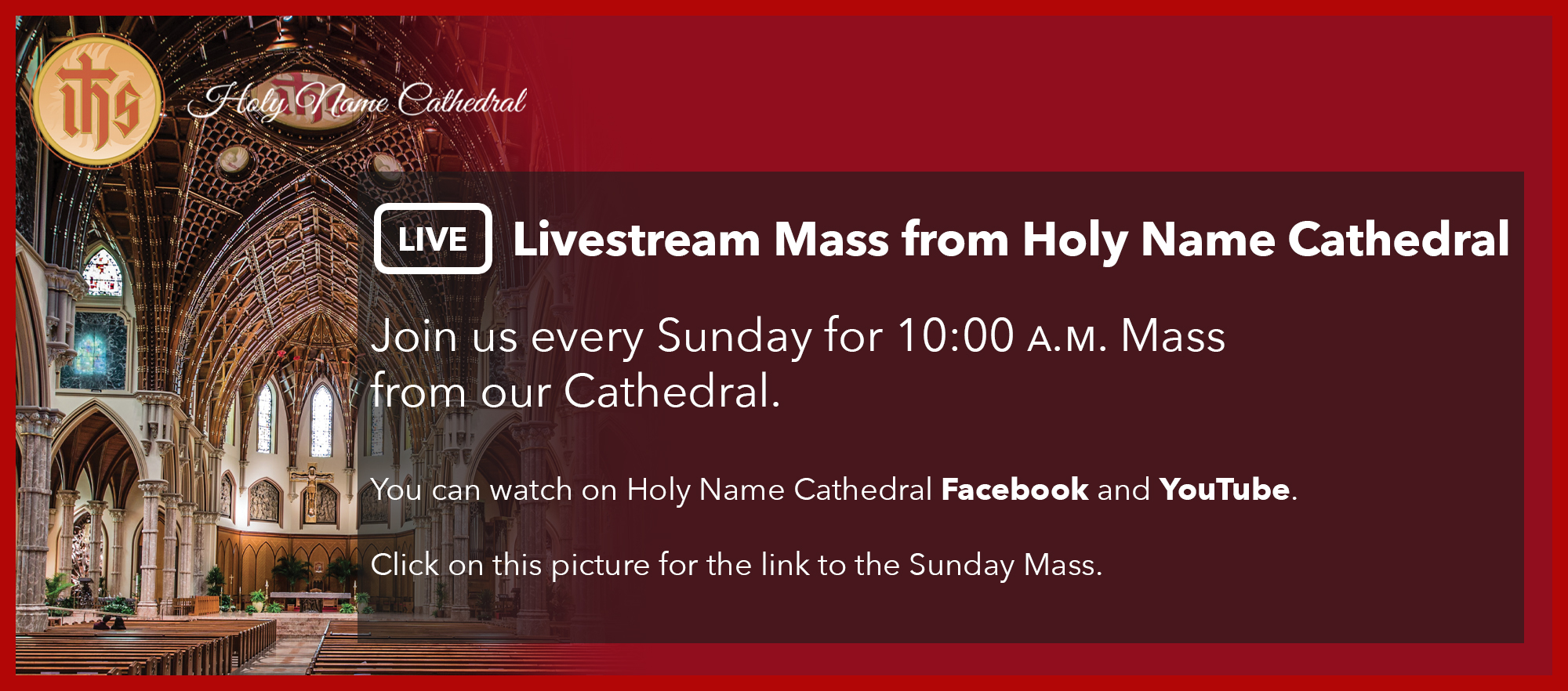 Livestream – Sunday