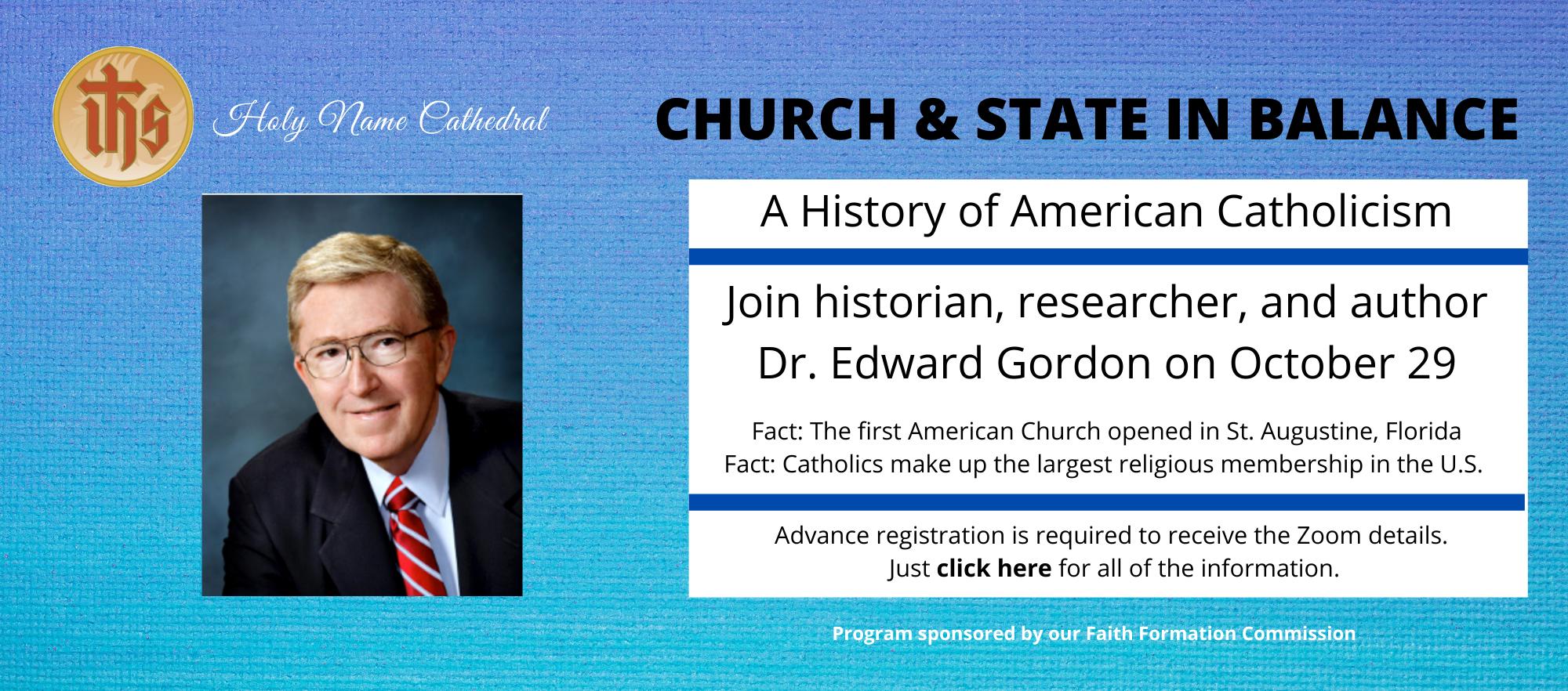 Replacement Slide for Dr. Edward Gordon October 29 Webinar