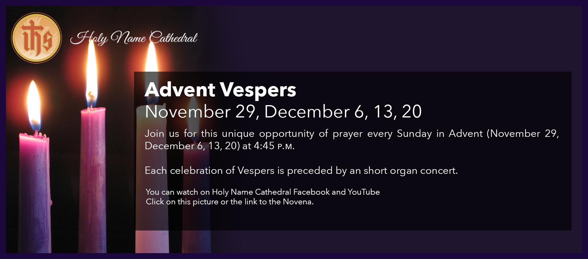 Advent Vespers